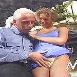 Mature blonde hotie screwed really rough by a stud